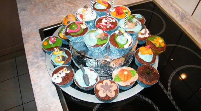 Cupcake cake #1 & #2