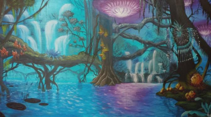 Bioluminescent Forest