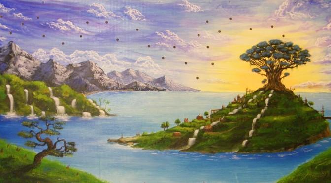 Island City – Starry Night