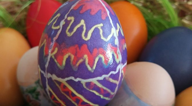 Easter eggs – traditional style
