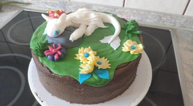 Light fury cake
